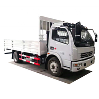 4x2 cargo pickup small flatbed truck 6 wheeler cargo truck price for sale
