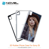 Trade assurance sublimation TPU phone cover for sony Z5,Diy phone case