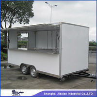 2015 JX-FS420B Shanghai Jiexian No pay rent store convenient food cart street vending carts made in China/food truck tracker