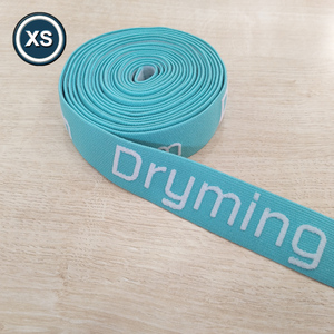 colored custom nylon woven jacquard elastic band tape for underwear