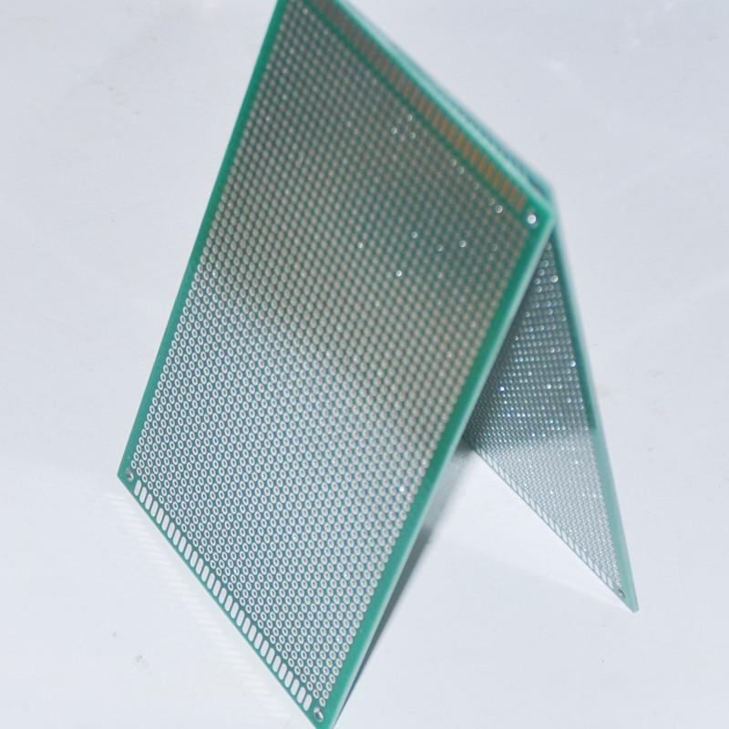 Uxcell 10pcs Singlesided Pcb Circuit Board Prototype Breadboard 7cm X