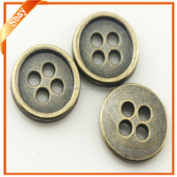 Factory provide all kinds of fancy gold engraved buttons