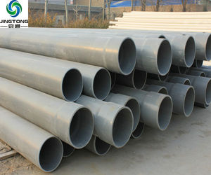 Grey & White PVC/UPVC Plastic Pipes For Water Supply