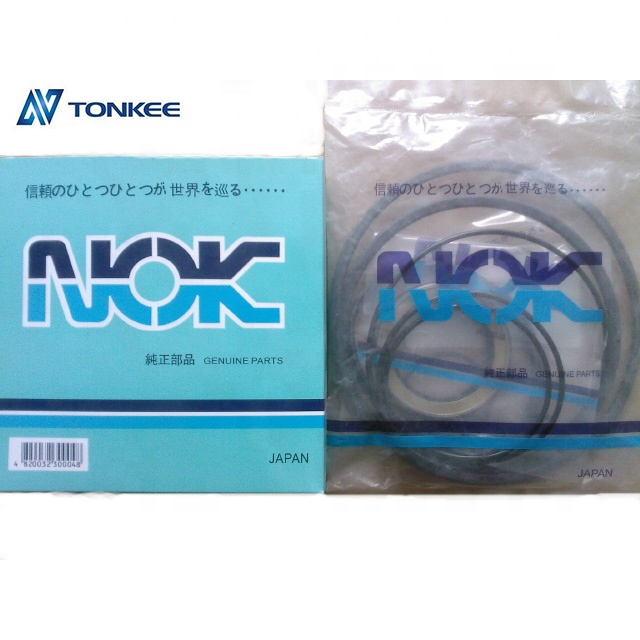 hydraulic TRAVEL MOTOR SEAL KITS final drive seal kit BLUE AND BROWN plastic box packing pump seal kit