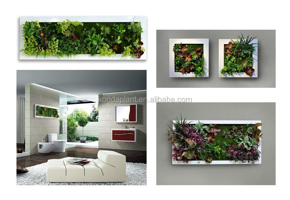 2015 Hot Selling Artificial Green Wall Artificial Plant Wall
