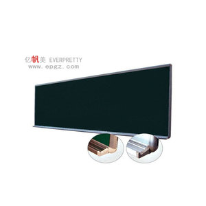 School Classroom Green Magnetic Chalk Black Board , Aluminium Frame and Pen Tray