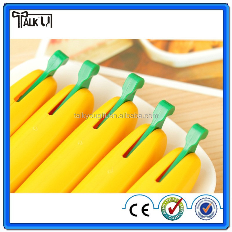Creative fruit banana shape ball pen for promotion and advertisement