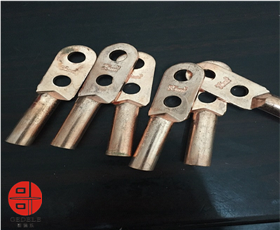 DT-S 70 in stock Copper cable lug with 2 holes palm