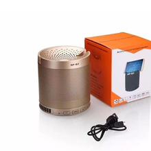 HF-Q3 Multi functional Wireless Portable Mini Bluetooth Speaker Subwoofer with Mic For Phone support mobile phone bracket