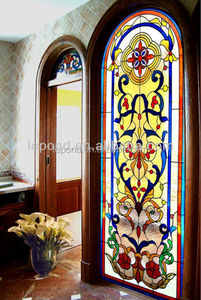 Chinese tiffany style stained glass