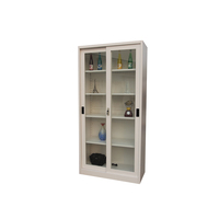 Metal Office Filing Cabinet/kitchen Sliding Door Glass Jewelry Cases Design In Book Shelf Display Cabinet