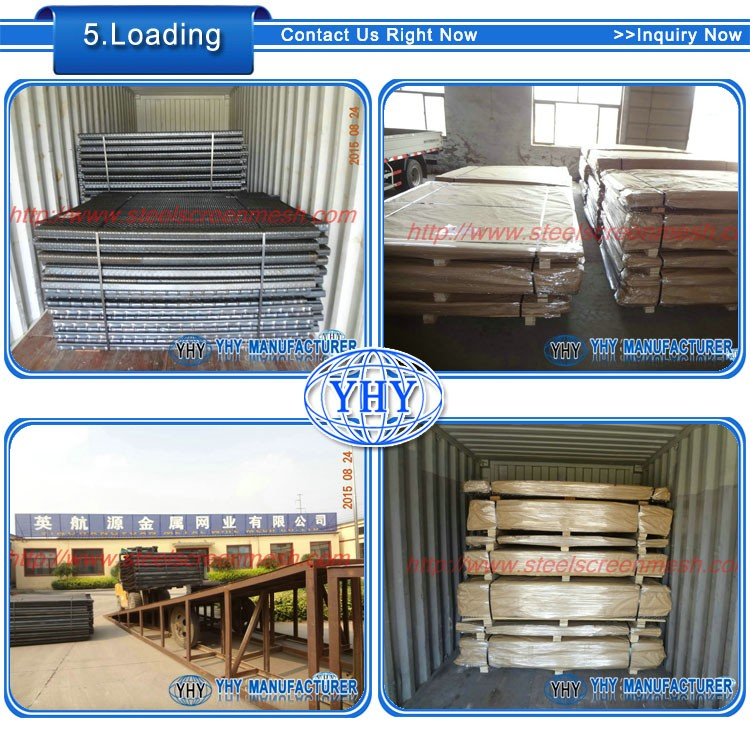 oilfield shaker screen panel self cleaning mesh