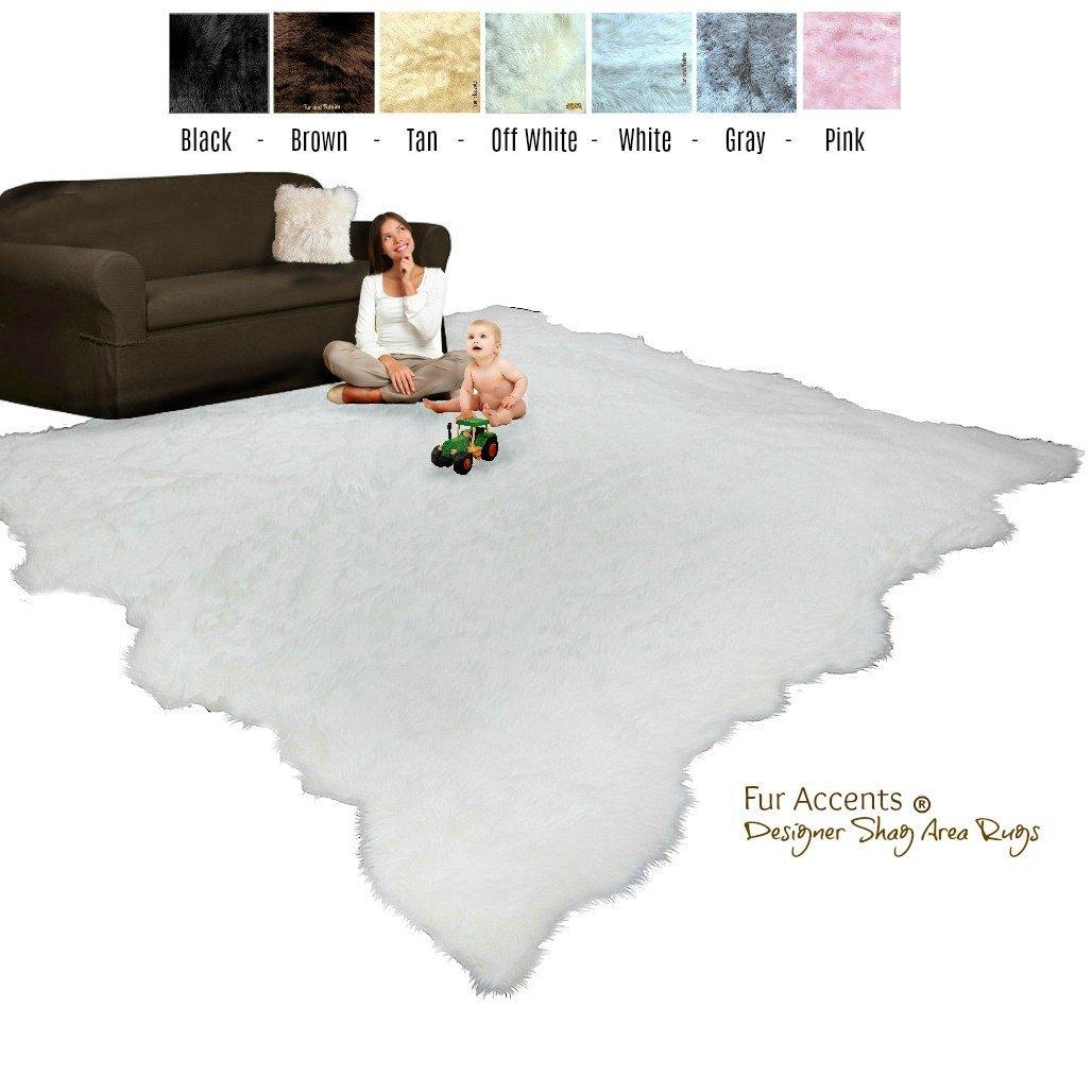 Tan Fur Carpet Find