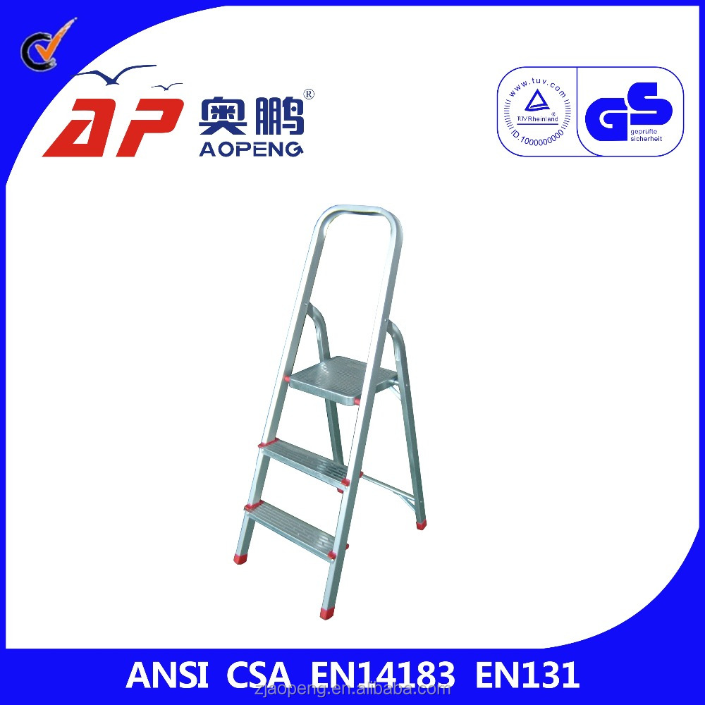 aluminum fold up ladder can be provided on request very light and good product AP-2313
