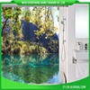Eco Friendly Shower Curtain With Matching Window Curtain