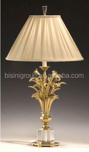 Vintage Elegant 6 Light Polished Brass Chandelier Lighting ...