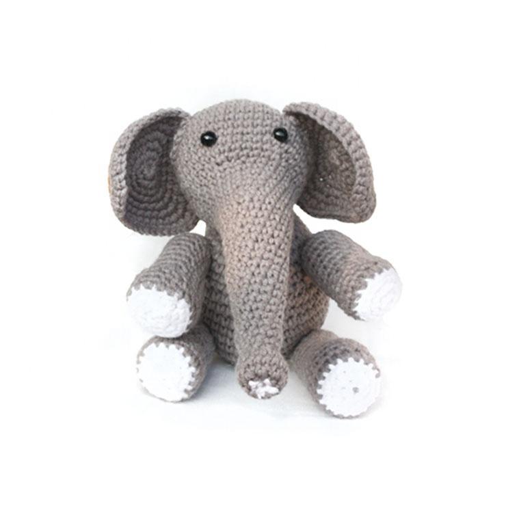 Cute Animal Elephant DIY Knitting kit DIY Crochet Kit