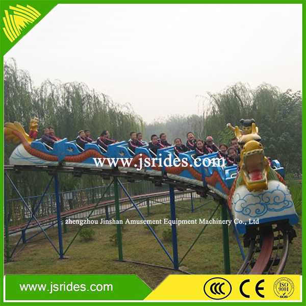 Amusement park rides kids game thrill rides roller coaster car for sale