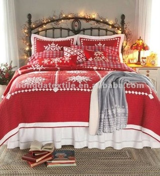 Christmas Comforter.100 Cotton Printed Snowflake Christmas Comforter Set Buy Christmas Comforter Set Christmas Bed Sheets Christmas Bedding Product On Alibaba Com