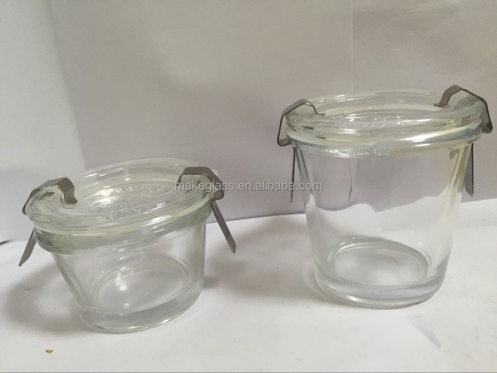 bocal en verre verre jar weck fraise pot verre consister tasses soucoupes id de produit. Black Bedroom Furniture Sets. Home Design Ideas