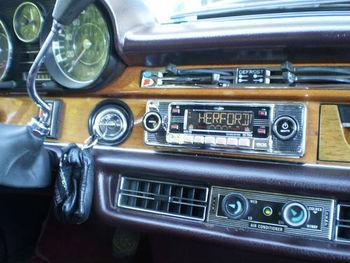 Chrome Car Radio For Mercedes W108 W109 W111 W113 W114 W115 /8 ...