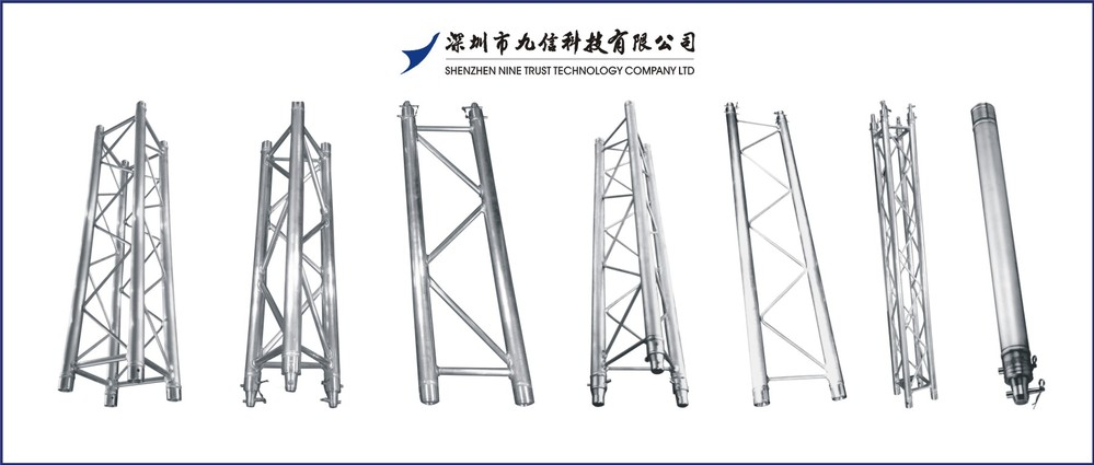 Rectangular Girder Truss Circular Roof Stage Lighting Scaffolding Triangular Product On Alibaba