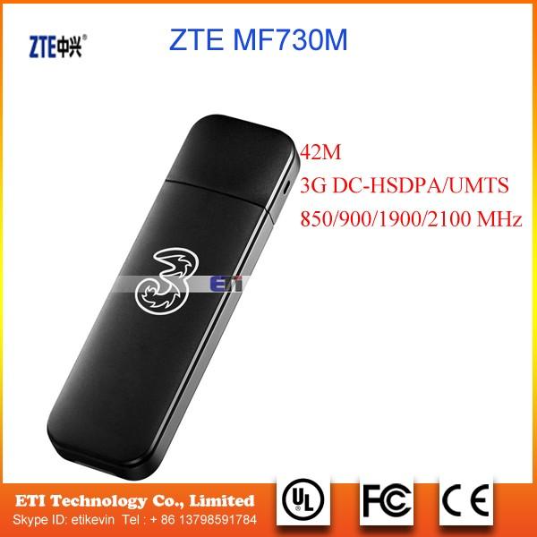 Unlocked Zte Mf730m 3g Usb Wireless Modem Mobile Broadband Usb Dongle  Global Bands - Buy Mini Modem 3g Usb Dongle,Sim Card Usb Modem Wireless