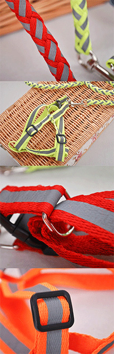 Dog Harness for Small Dogs Dog Harness Reflective Decorative Dog Harness Dog Collars and Leashes Dogift0493