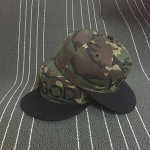 48cf075035580 custom camo 6panel 3d embroidery snapback hat cap