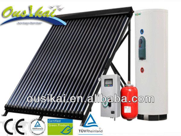 Parabolique trough capteur solaire tubes sous vide for Capteur solaire sous vide