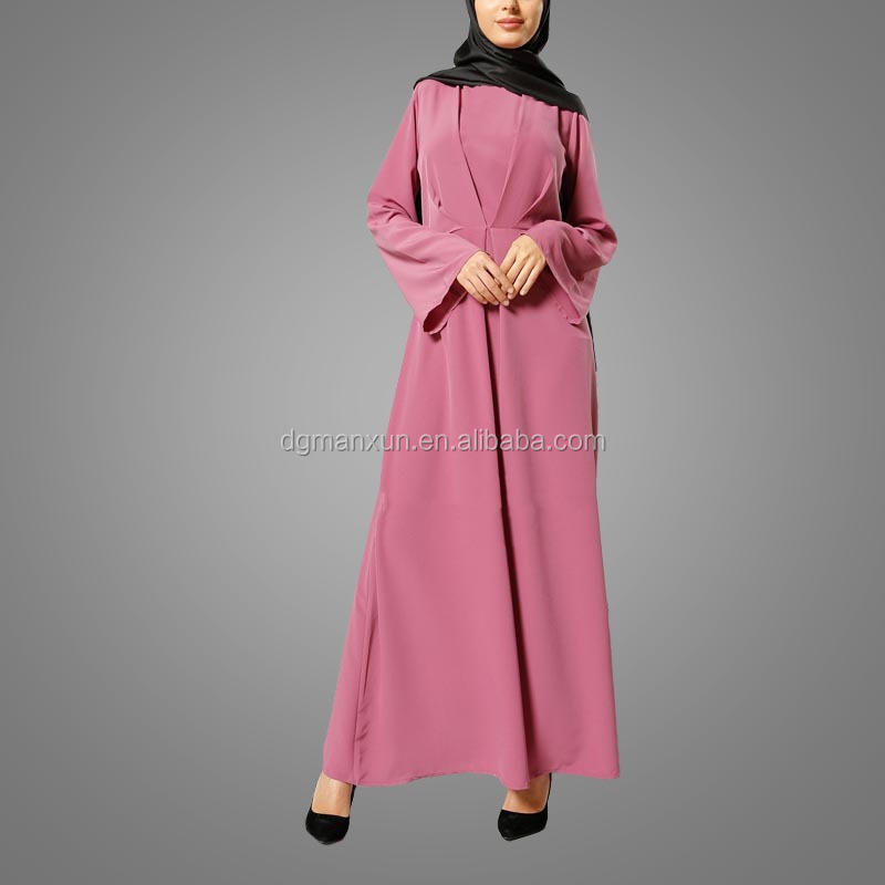 cheaper price high quality heavy chiffon long maxi dress summer muslim islamic dress abaya in dubai