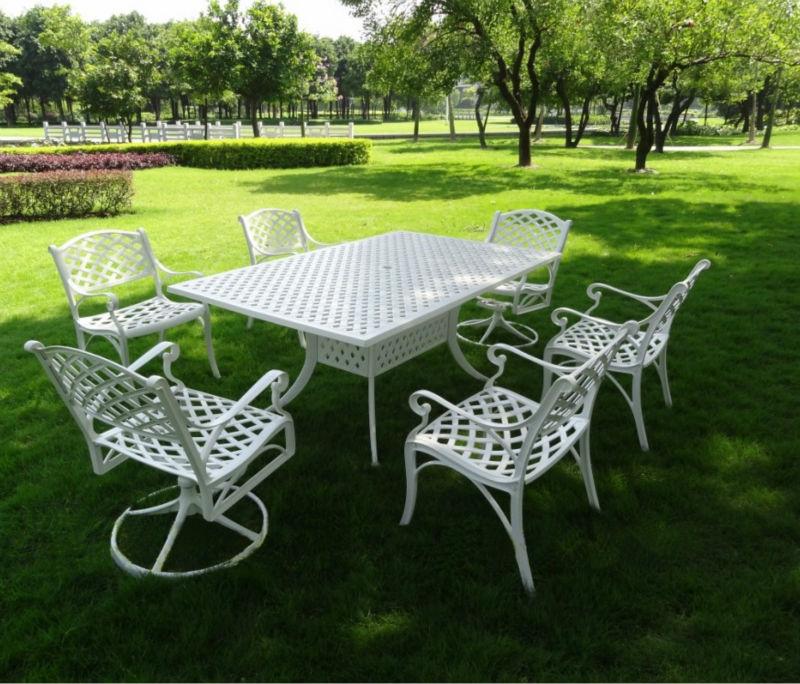 Mobili rio de jardim ferro fundido mesa e cadeira 101215f for Mesas de patio baratas