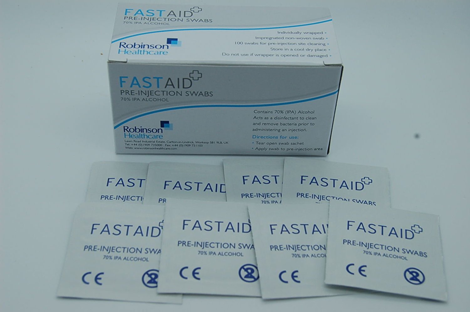 Multiple Listing Swabs for Electronics Fastaid 70% IPA