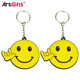 Make 3D Pvc Keyring Rubber Emoji Key Chain Custom Soft Pvc Keychain