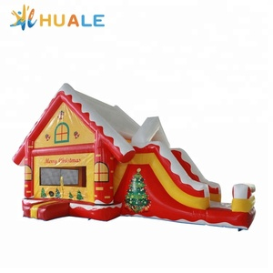 China manufacturer PVC christmas inflatable bouncer house