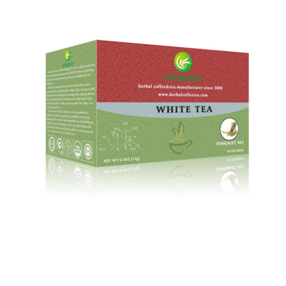 Lifeworth white fit tea with tongkat ali extract - 4uTea | 4uTea.com