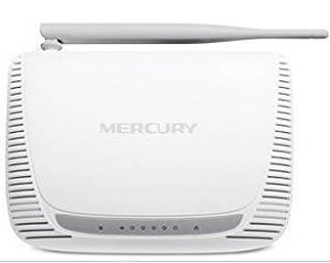 MERCURY MW150R 150Mbps 11N 802.11b/g/n Wireless 4-Port WIFI Lan Broadband Router White