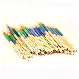 rainbow color pencil 4 in 1 colour pencil color pencil set