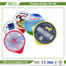 Yogurt Container Lid / Yogurt Cup Aluminum Foil Lid / Yogurt Cup Aluminum Foil Cover