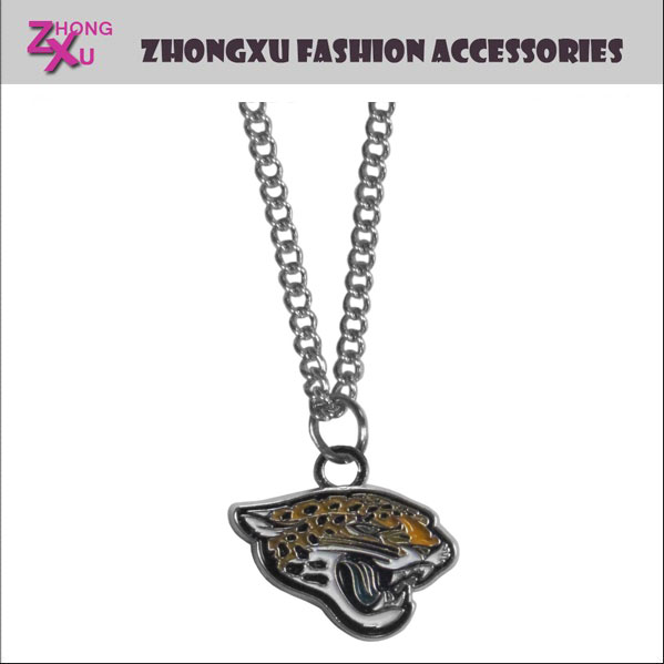 Custom teams New fashion NFL Jacksonville Jaguars pendant jewelry necklace