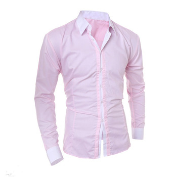 2017 New Design Dri Fit Shirts Casual Brand Name Men Dress