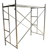 Construction Galvanized Painted Mobile H Frame Types Scaffolding of Steel Scaffold Ladder