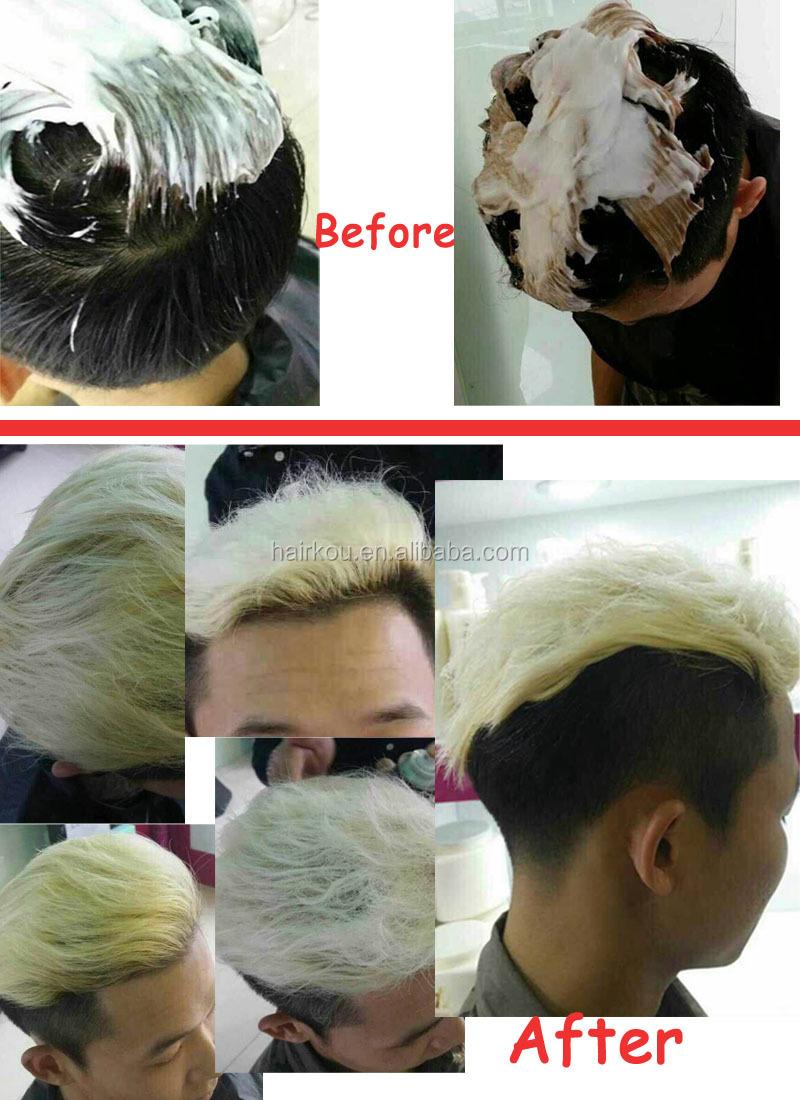 Eco Friendly Fade Dye Powder Hair Dye Bleach Blond Hair 500ml Powder