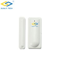 Door Window Security 433mhz Wireless Door Contact Sensor With Low Battery Alert