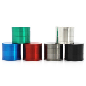 Hot Sale 4-layer Alloy Herbal Herb Tobacco Grinder Spice Weed Grinders 40MM J-R236