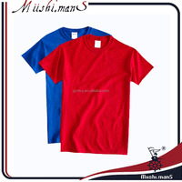 China Plain High Quality Cheap 100% Cotton Custom Print T shirt