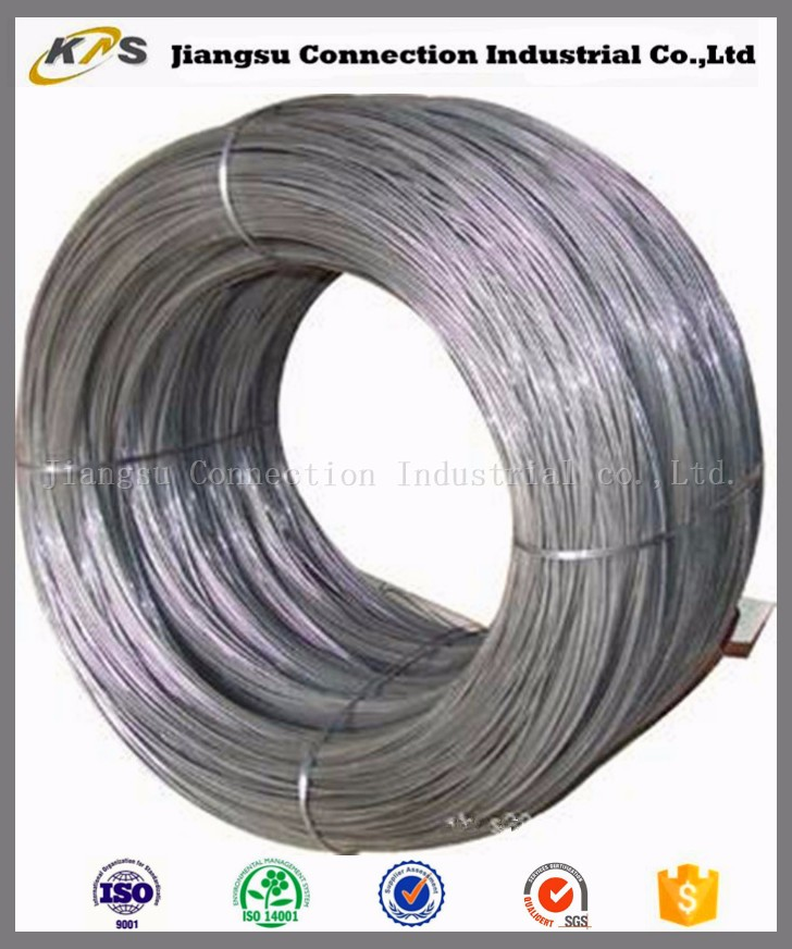 oil tempered circular coil spring steel wire raw material made in China