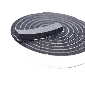 pvc packing waterproof single foam tape 5mm*15mm*10m pvc packing waterproof single foam tape fire resistance