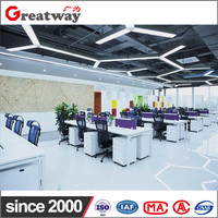 Cheap chinese cubicle customized size material office furniture