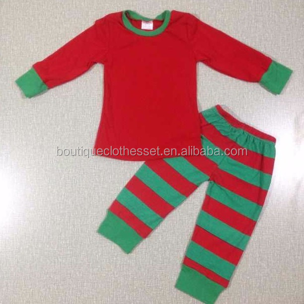 Christmas Pajamas Clothes Boutique Toddler Girls Xmas Clothes ...